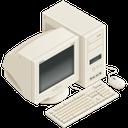 windows xp, pc icon