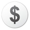cash, dollar, coin, money, currency icon