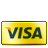 card, credit, visa, gold icon