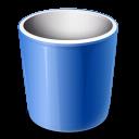 Bin, e, Recycle icon