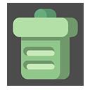 bin, blank, recycle, empty icon
