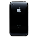 cell phone, iphone, black, mobile phone, smartphone icon