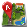 City, Map icon