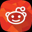 social network, reddit icon