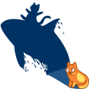 Shadow, Whale icon