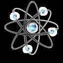 Atom, Cellular, Dna, Physics, Science icon