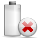 Status battery missing icon