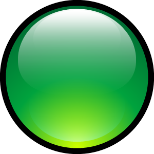 ball, aqua, green icon