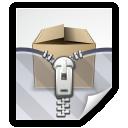 zip, bzip, archive, tar, rar, compress icon