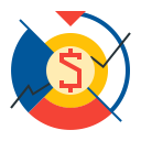 money, finance, currency, rate, dollar, exchange icon