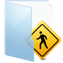 Folder, Public, Sign icon