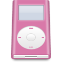 mini, ipod, pink icon