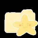Ak, Folder, Happy, Starry, Vanilla icon