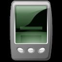 Device pda black icon