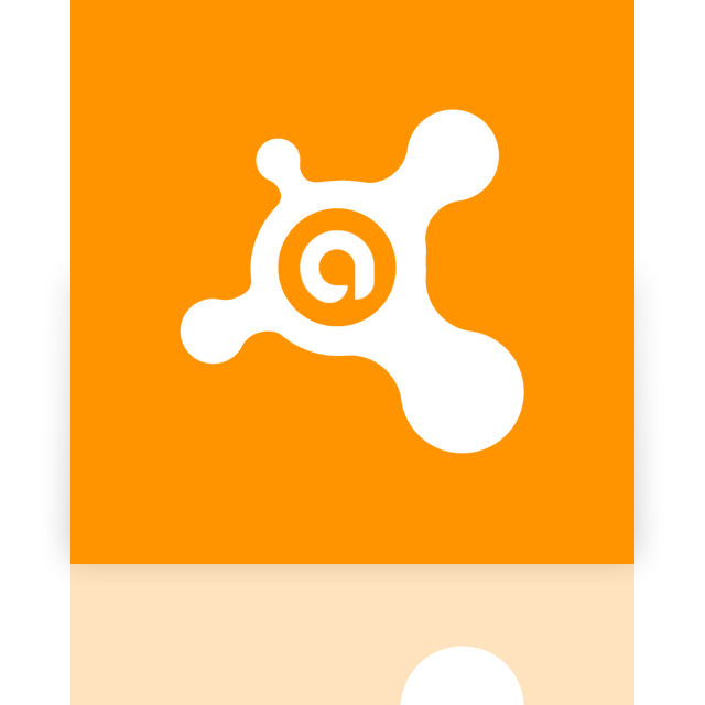 antivirus, avast, mirror icon
