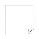 clipping, unknown icon
