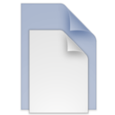 (toolbar) documents blue icon