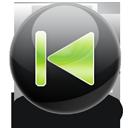 Previous, Track icon