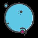 univearse, venues, earth, planet, pluto icon