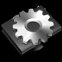 developer, alternate, black icon