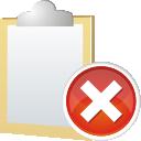 Note, Remove icon