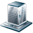 building, agency, bureau, company, business icon