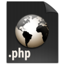 file,php,paper icon