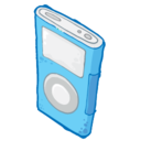 ipod,blue icon