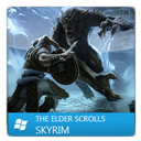 Elder, Scrolls, Skyrim, The icon