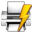 actions document print direct icon