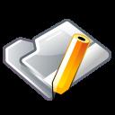 folder, pen, write icon