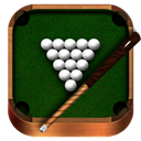 Billiards, Wooden icon