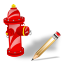 Fire, Plug, Write icon