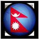 of, nepal, flag icon