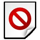 file, broken, no access icon