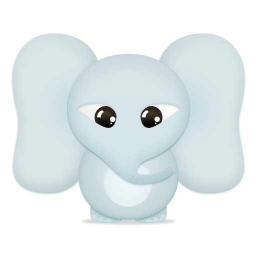 trans, elephant, animal icon