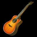 Fire, Guitar icon