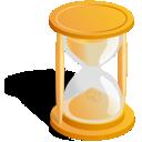arena, reloj icon
