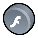 macromedia, player, flash icon