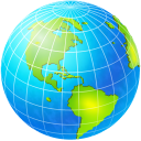 planet, world, globe, earth icon