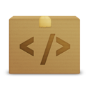 package, code icon