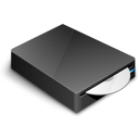 dvd, cd, drive icon