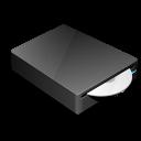 dvd, cd, drive icon