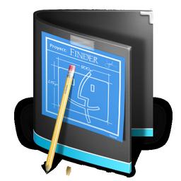 folder, black, developer icon