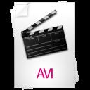 video, avi icon