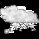 Status weather snow icon