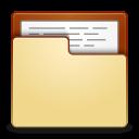 Places folder open icon