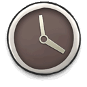 less, boring, clock icon