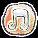 g, Music icon