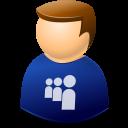 human, profile, people, account, myspace, user, web icon